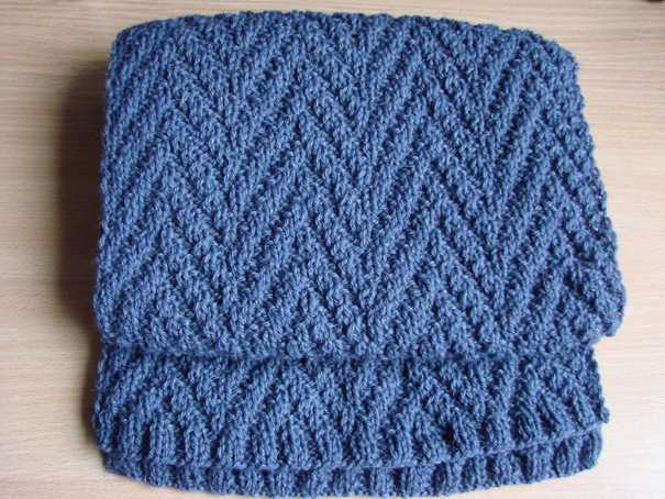 спицами мужской вязания схема шарф