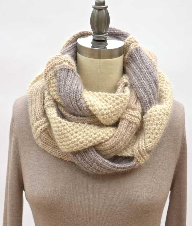 Оригинальные шарфы своими руками вязаные фото 262