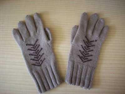как вязать перчатки спицами для начинающих по схеме