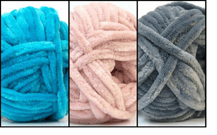 пряжа с помпонами по видам и техника вязания изделий