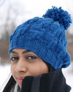 Вязание спицами шапок от макушки до 110