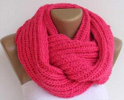 вязание шарфа английской резинкой спицами для начинающих
