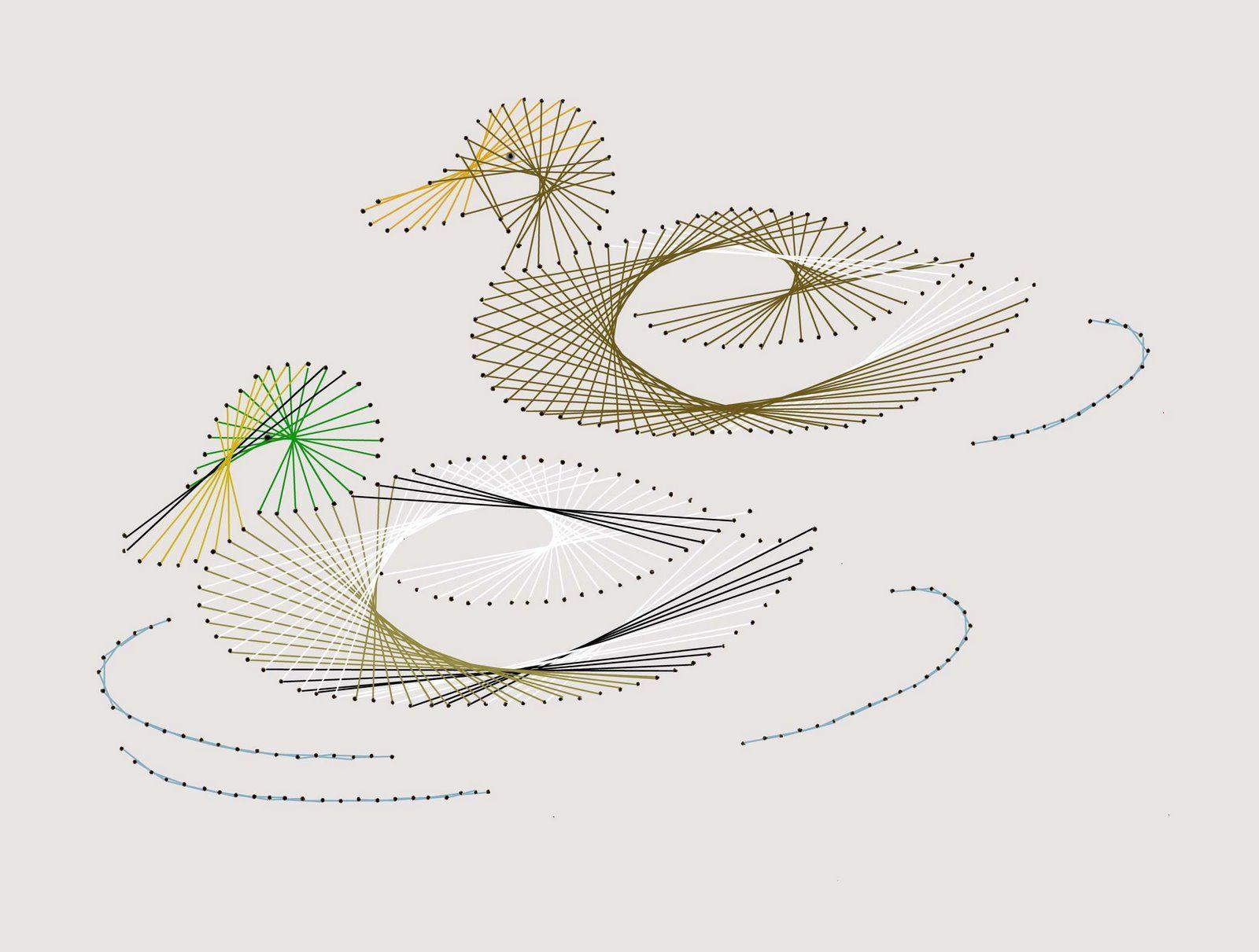Схемы вышивки мулине на картоне для детей