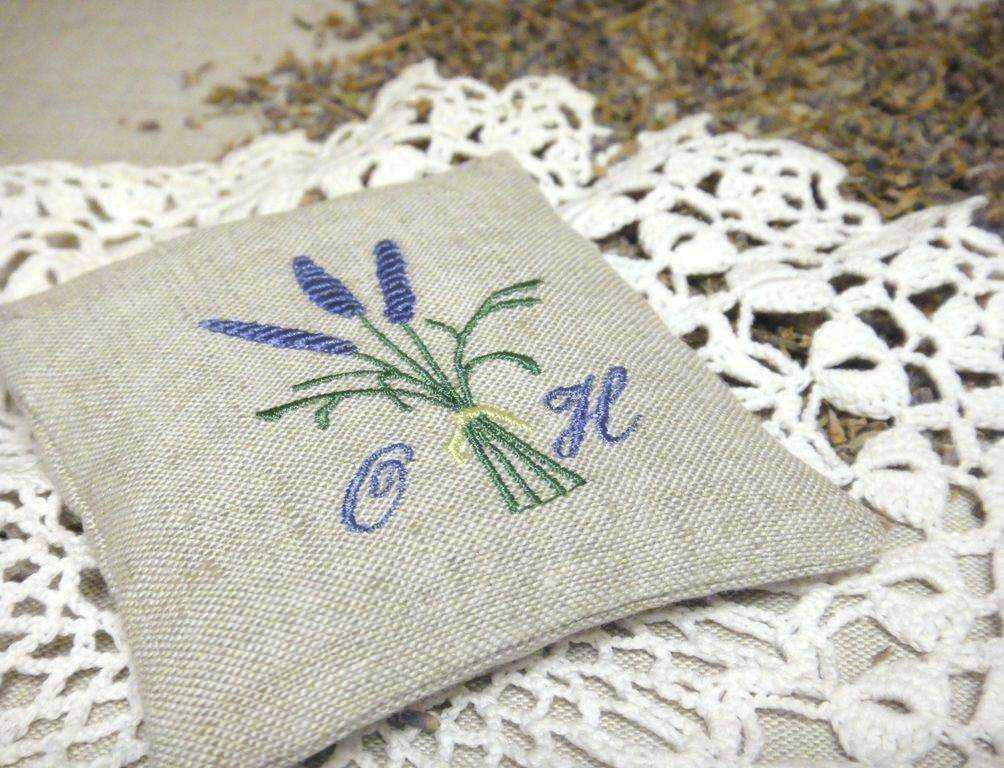 Цветы в стиле прованс вышивка