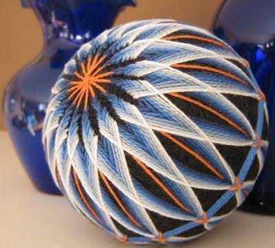 Темари вышивка шаров мастер класс