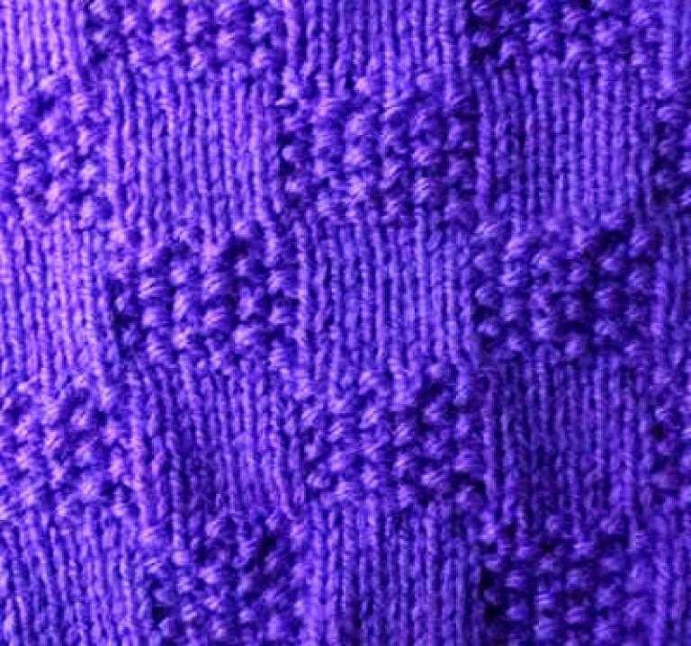узоры для шарфа спицами по схемам с описанием