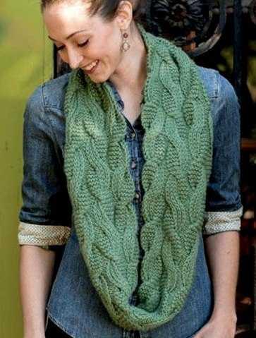 Женские шарфы спицами описанием схемами фото 251