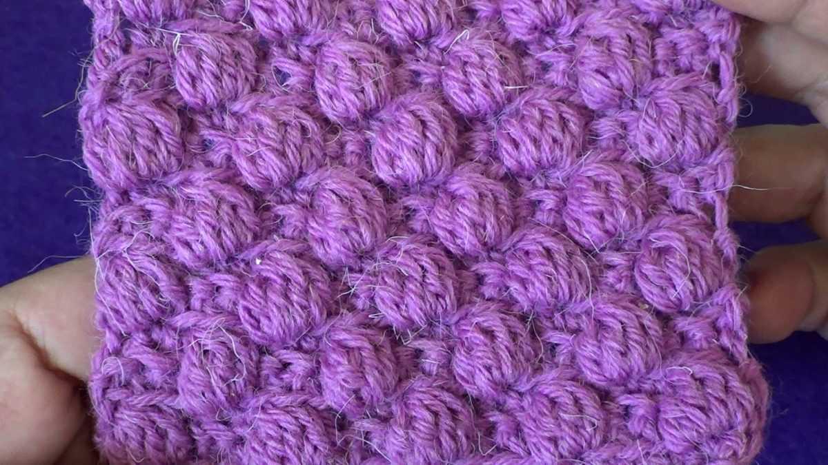 Схемы вязания узора малинка спицами