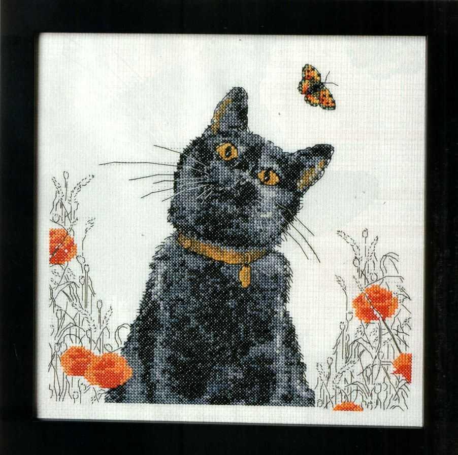 Схемы крест кошки
