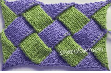 вязаные носки в стиле энтерлак фото видео