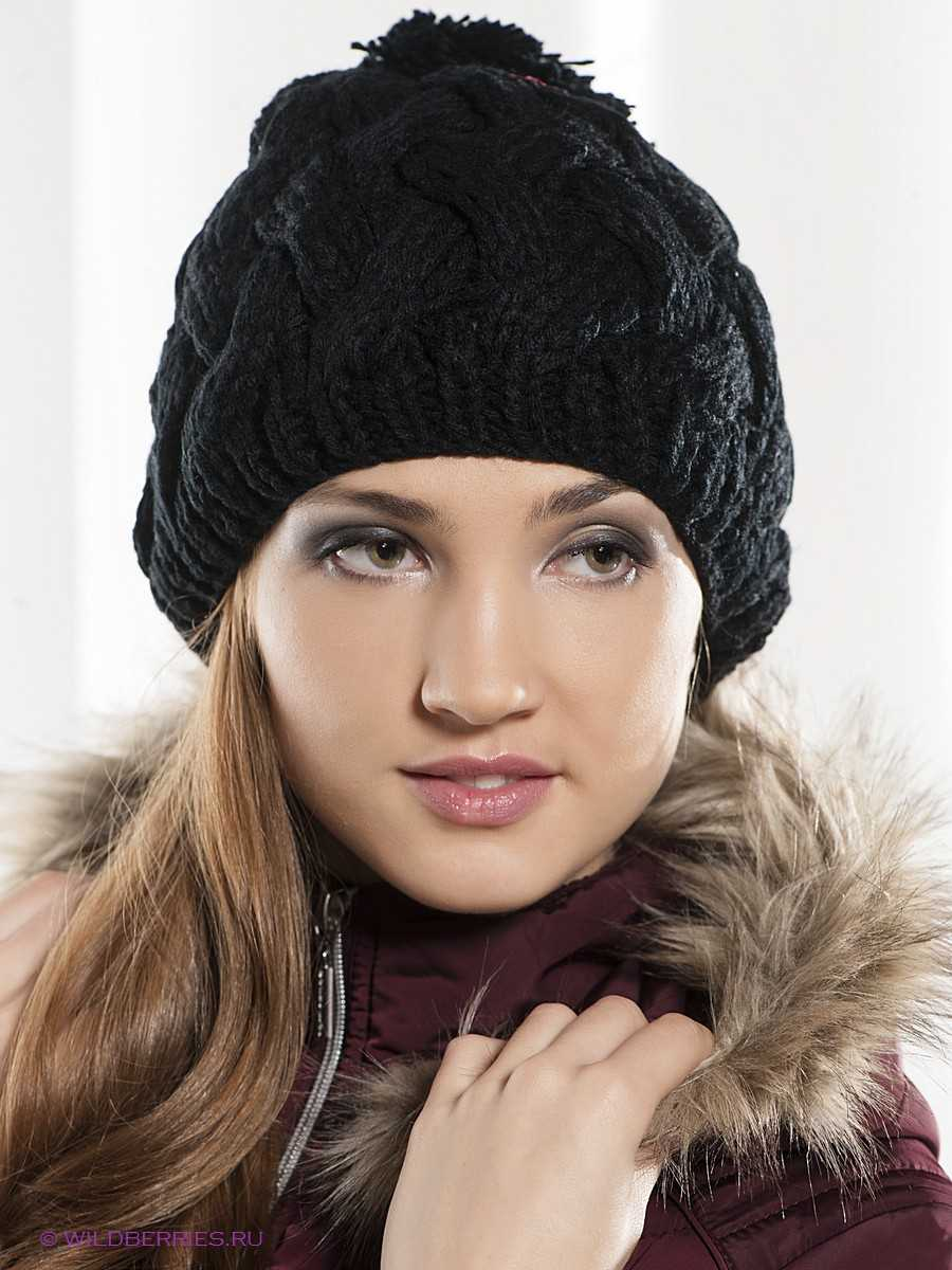 схема вязания объёмных шапок
