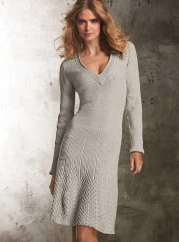 5984efaeadedcda Самой элегантной и изысканной одеждой, созданной своими руками, без  сомнения являются вязаные платья. В них вложено много труда, но это всегда  приносит ...