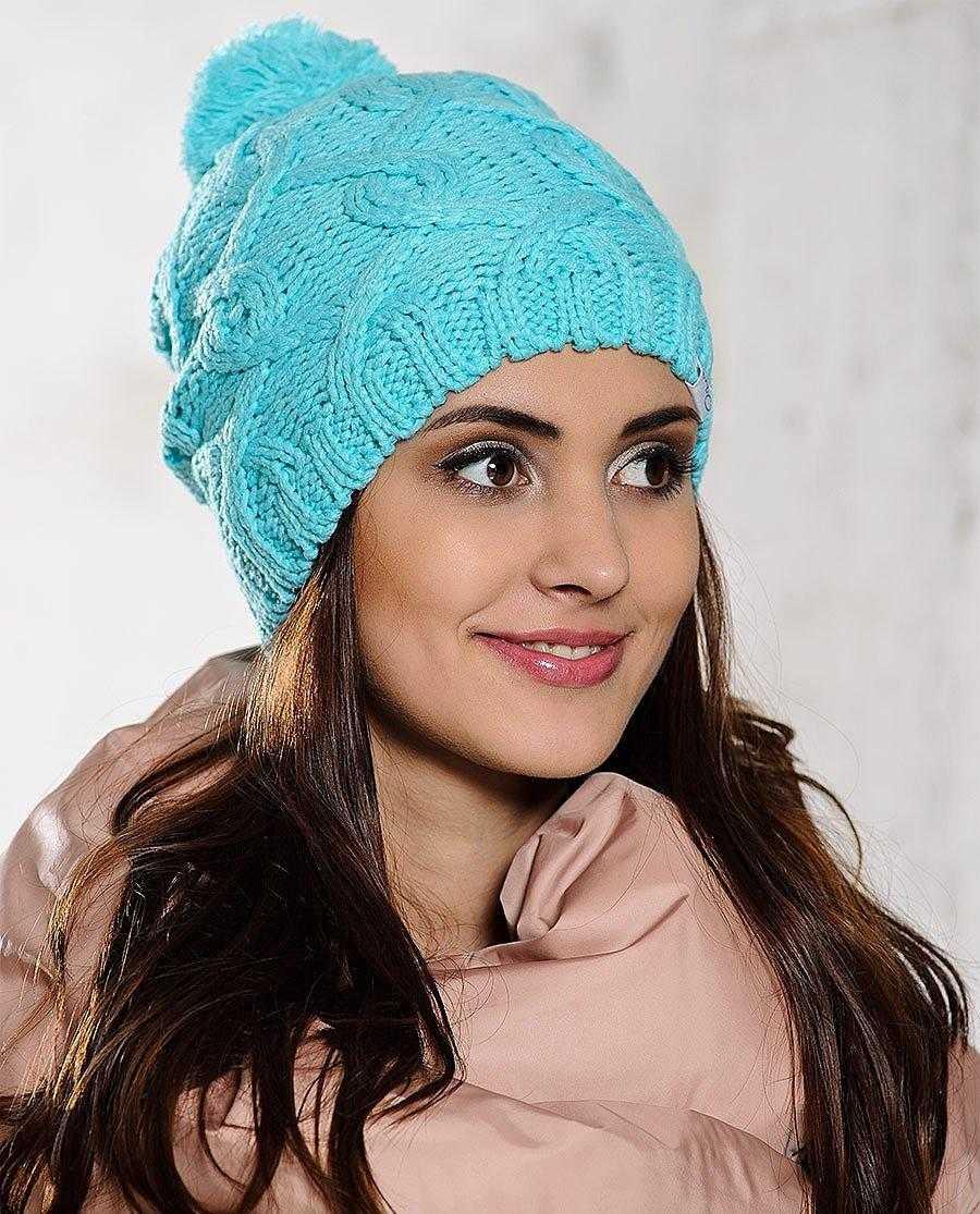 Вязание женских шапок на спицами