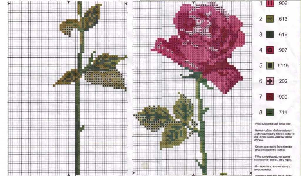 Черно белые схемы роз вышивка