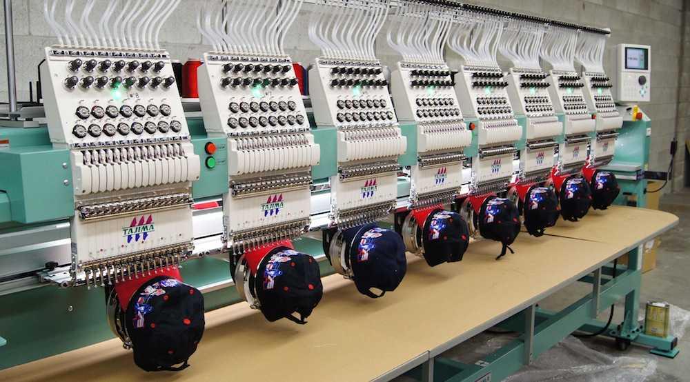 Машинки для вышивки на бейсболках