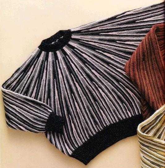 укороченные ряды спицами способы вязания по мастер классу