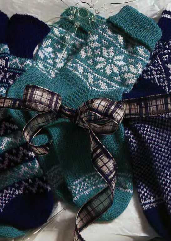 Способ вязания носков с носка 70