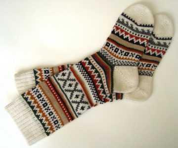 узоры и схемы для вязания носков фото и видео мк