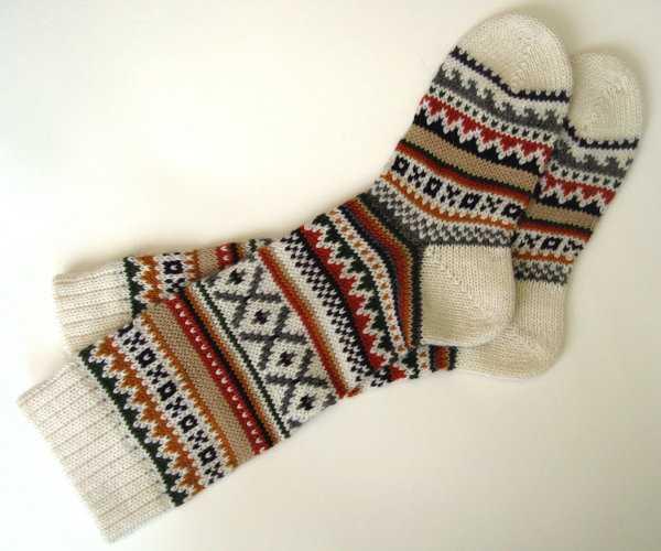 Способ вязания носков с носка 150